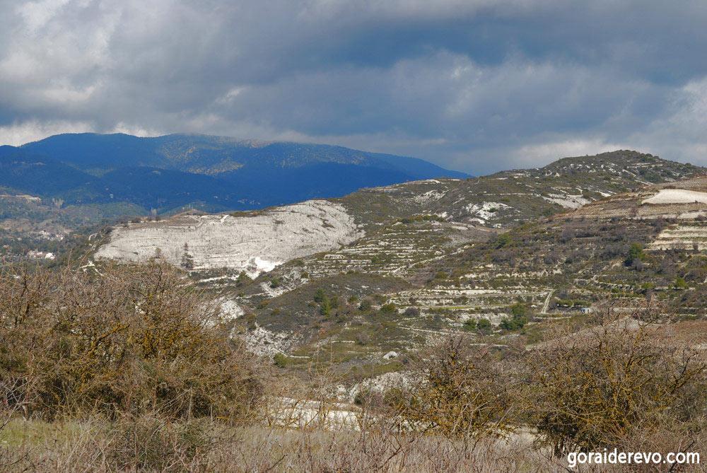 горы Троодос Кипр