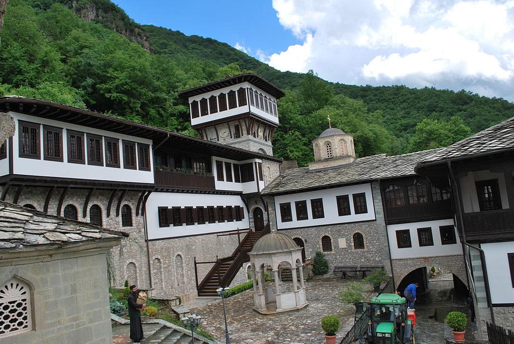 Бигорский монастырь Македония