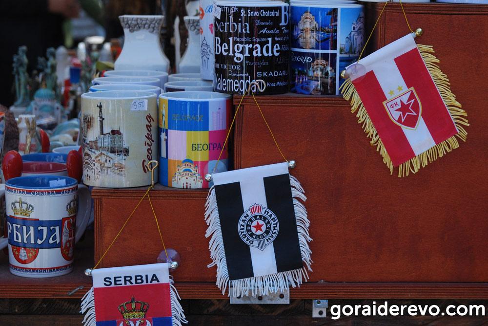 футбольные команды Сербия
