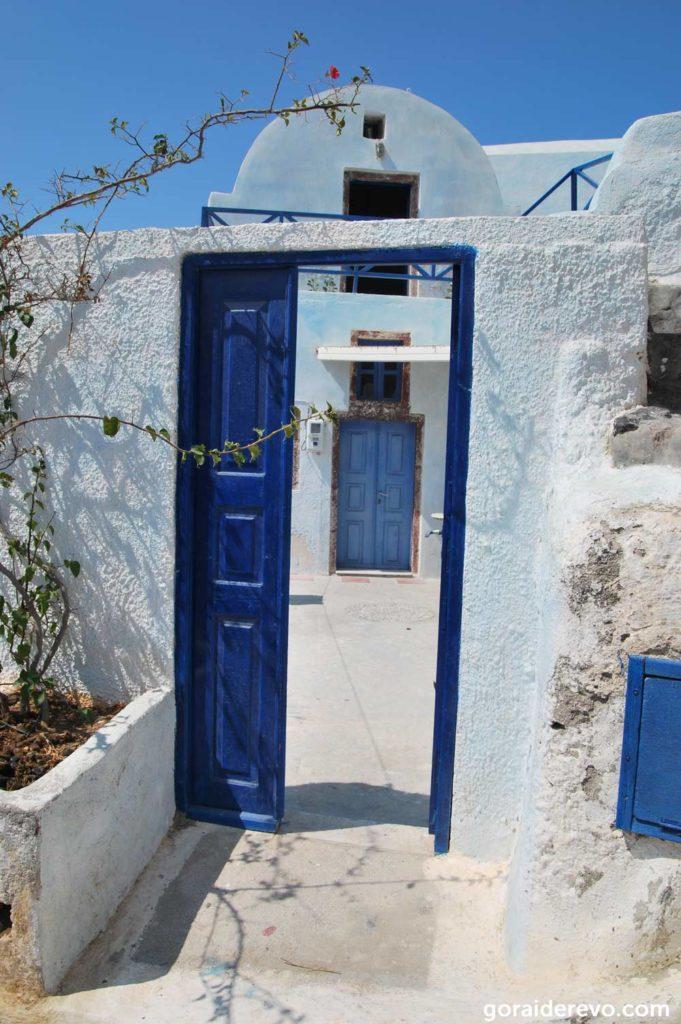 дворик в греческом стиле