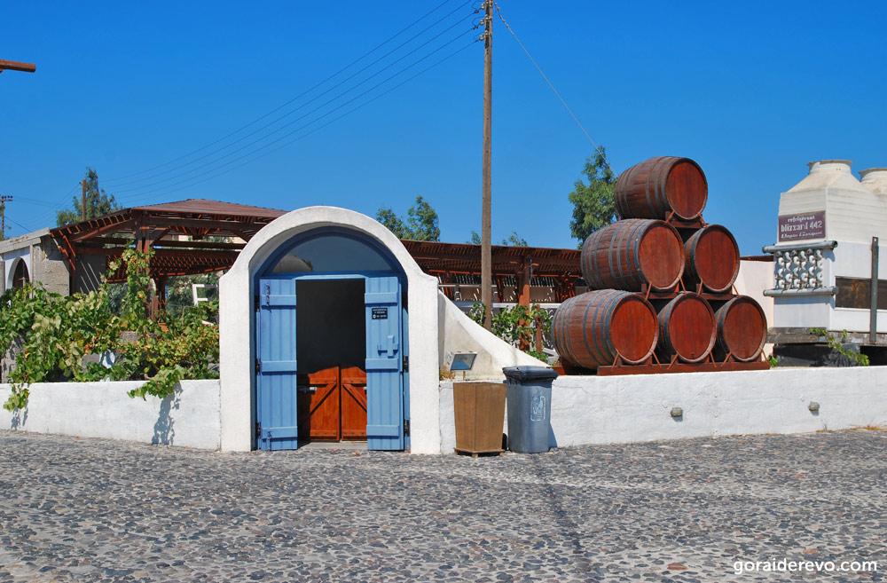 Музей вина Санторини