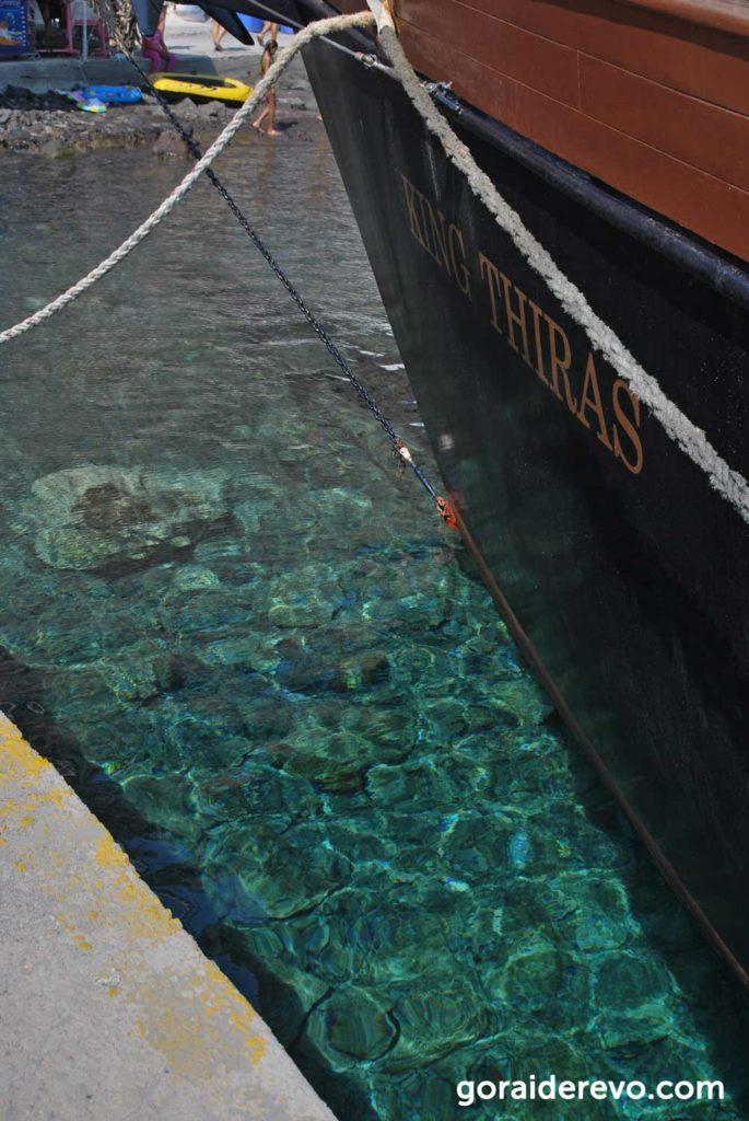 прозрачная морская вода