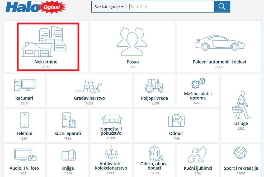 найти недвижимость Сербия