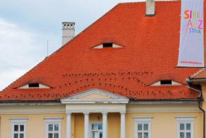 глазастые дома