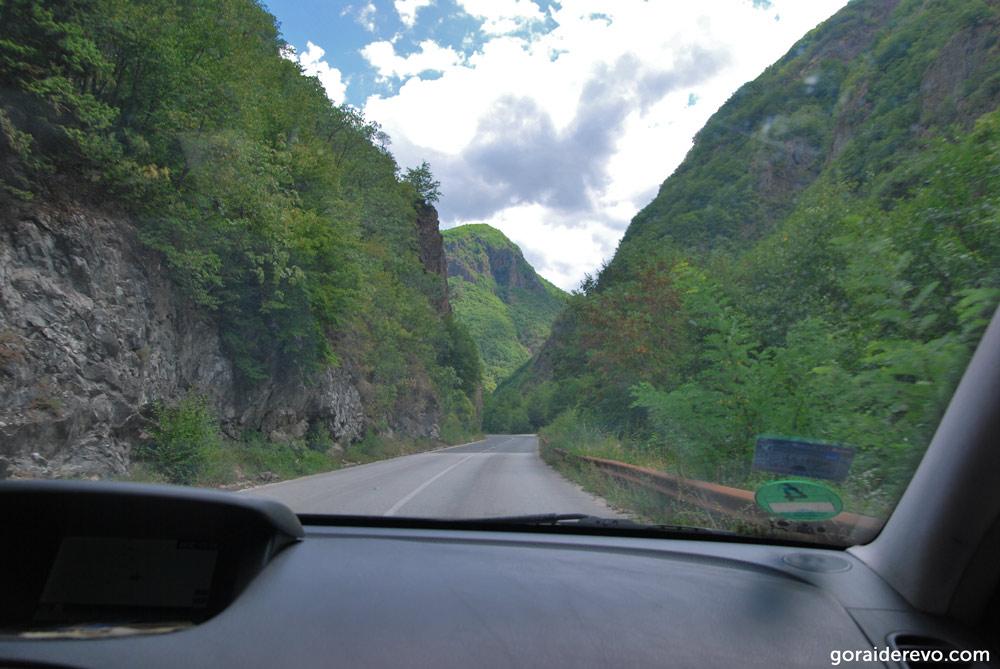 ущелье дорога