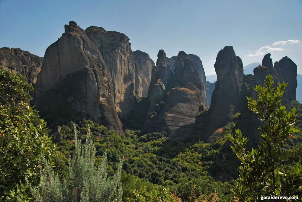 Фессалийские скалы