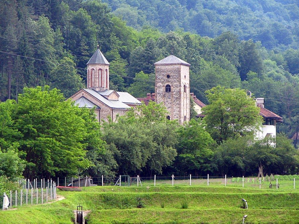 Монастырь Рача Сербия