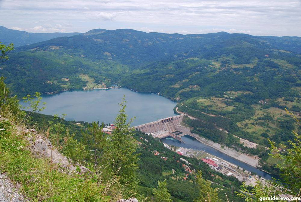 озеро Перучац
