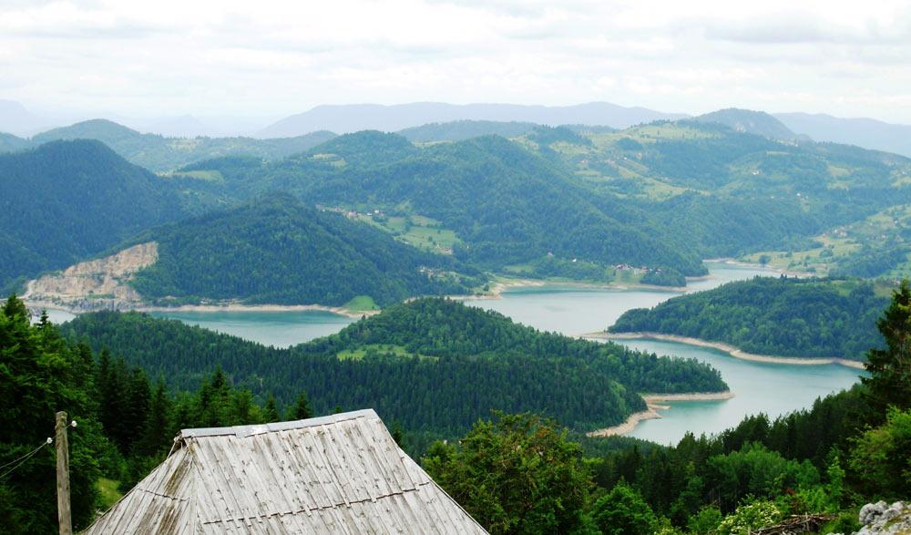 озеро Заовине