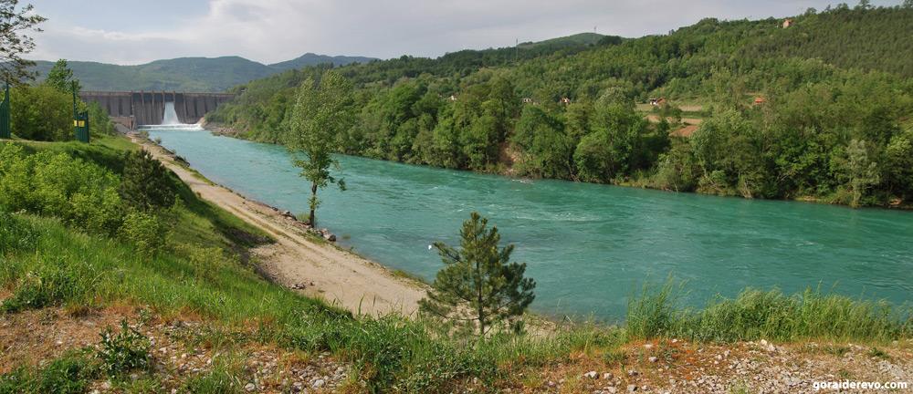 плотина Дрина Перучац