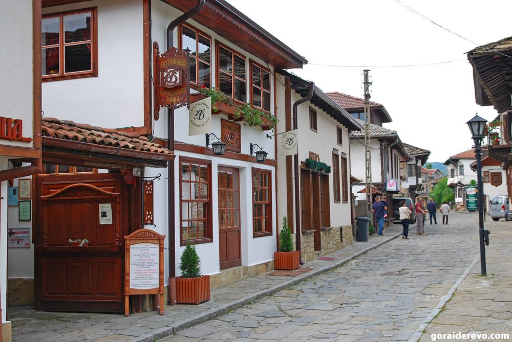 Улица мастеров Трявна