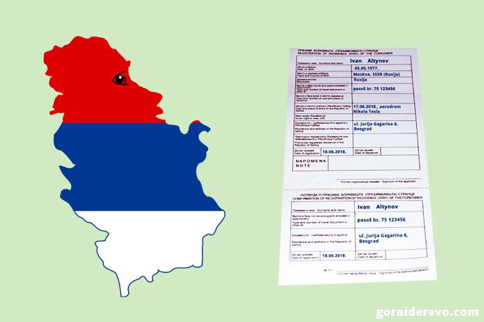 нужна ли виза в Сербию для россиян