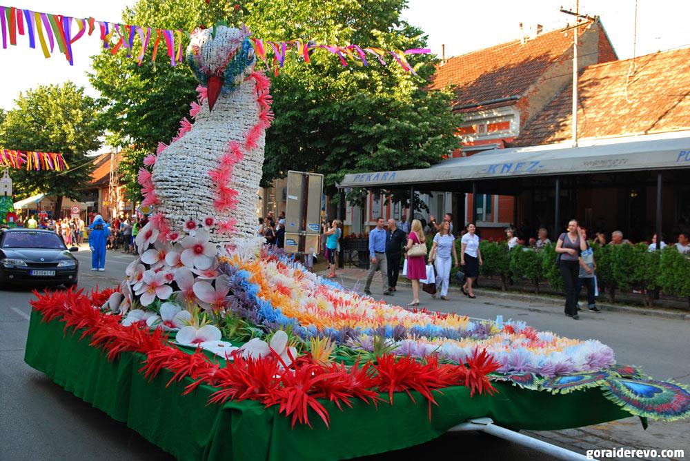 Бела-Црква карнавал цветов