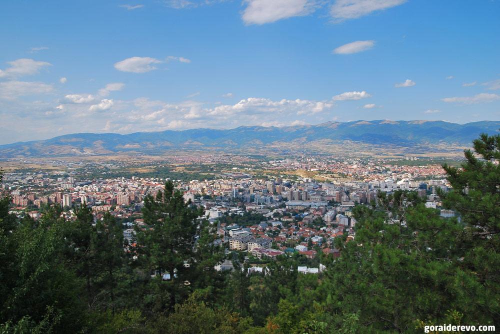 Холм Водно Скопье