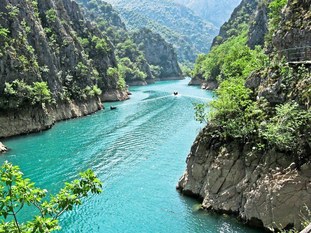 каньон Матка Македония