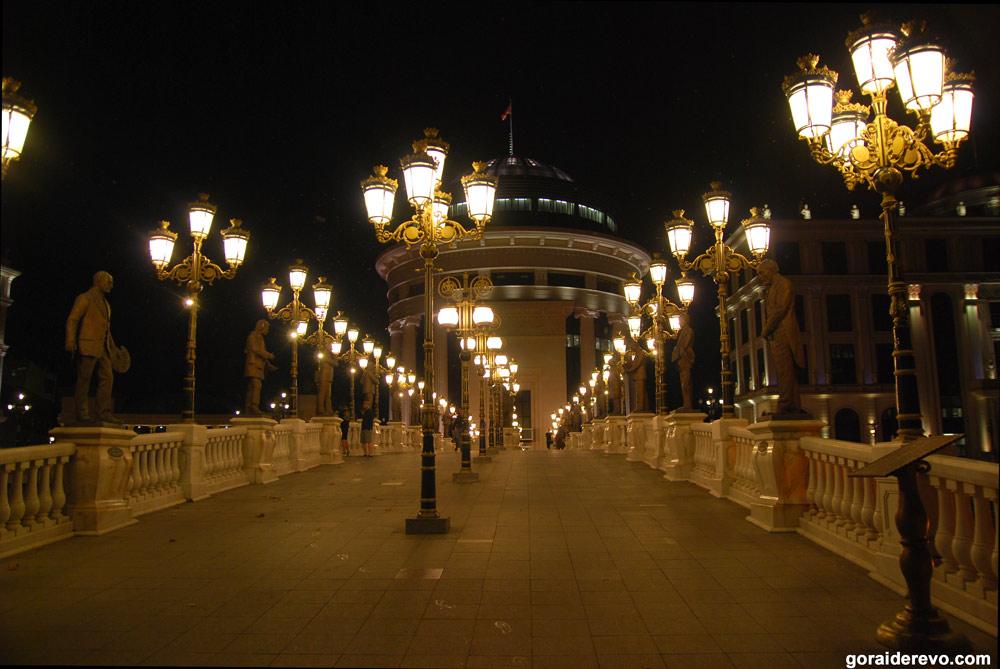 мост искусств Скопье