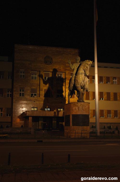 Скопье памятник