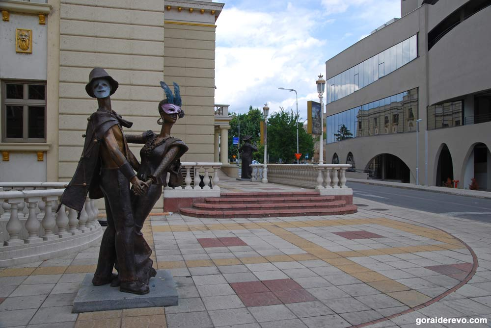 Скопье статуи