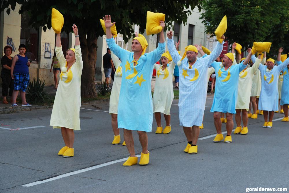 словенцы на карнавале
