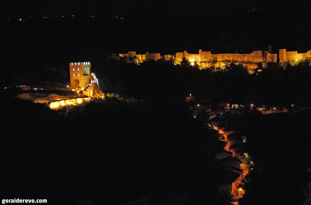 подсветка крепости