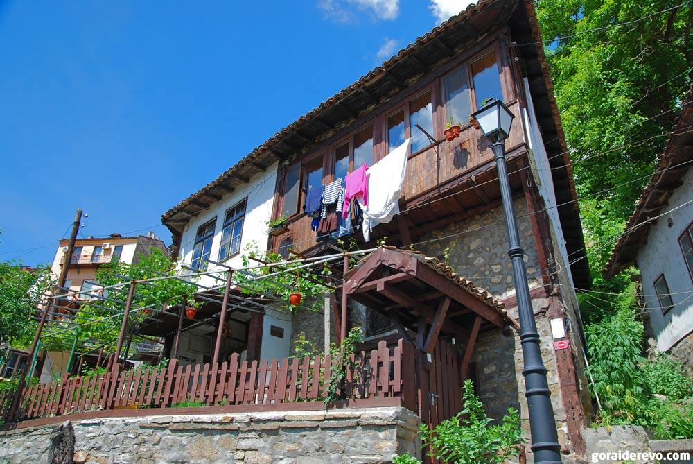 старый квартал Велико-Тырново