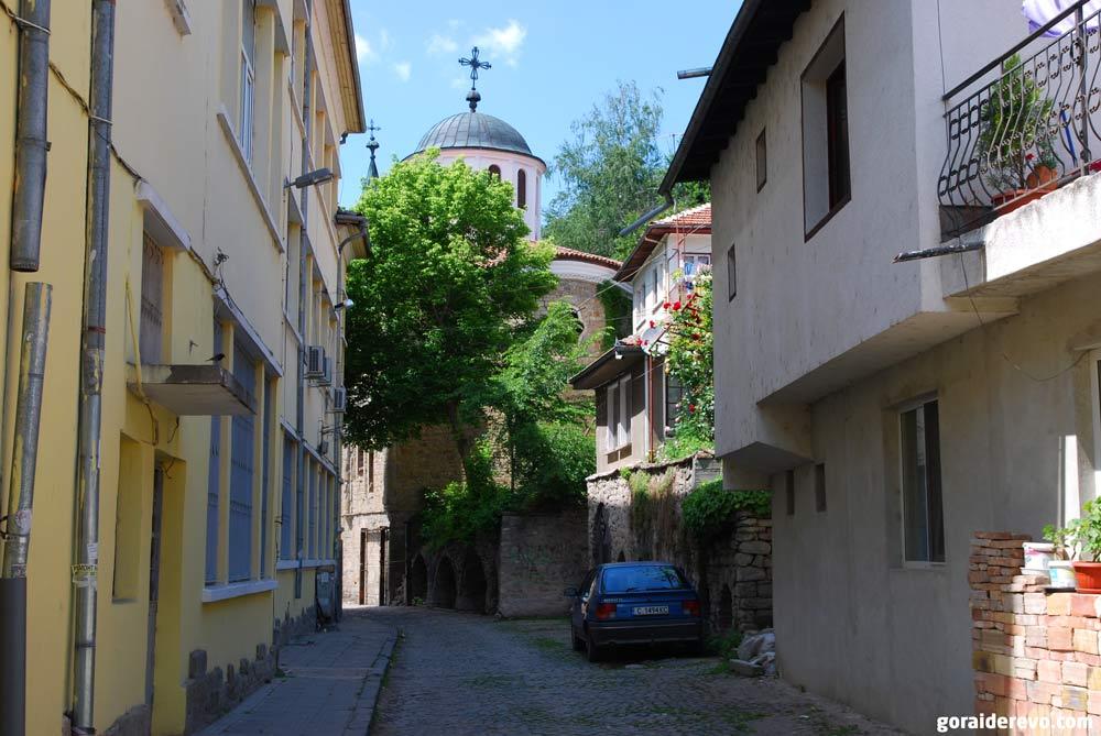 старые болгарские кварталы