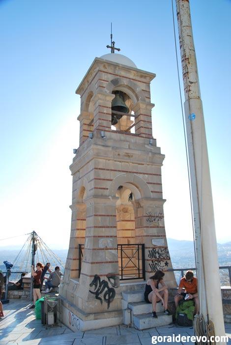 вершина холма Ликабет Афины