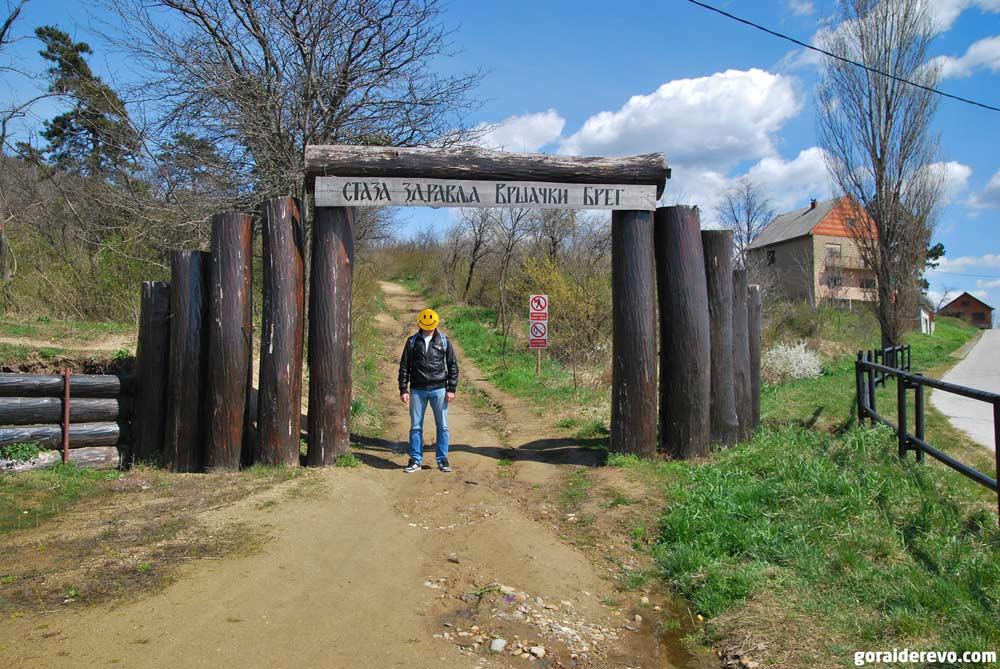подъём на гору Вршац