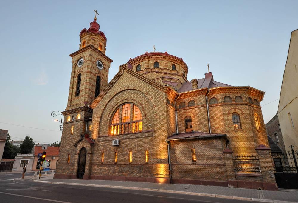 румынская церковь вршац
