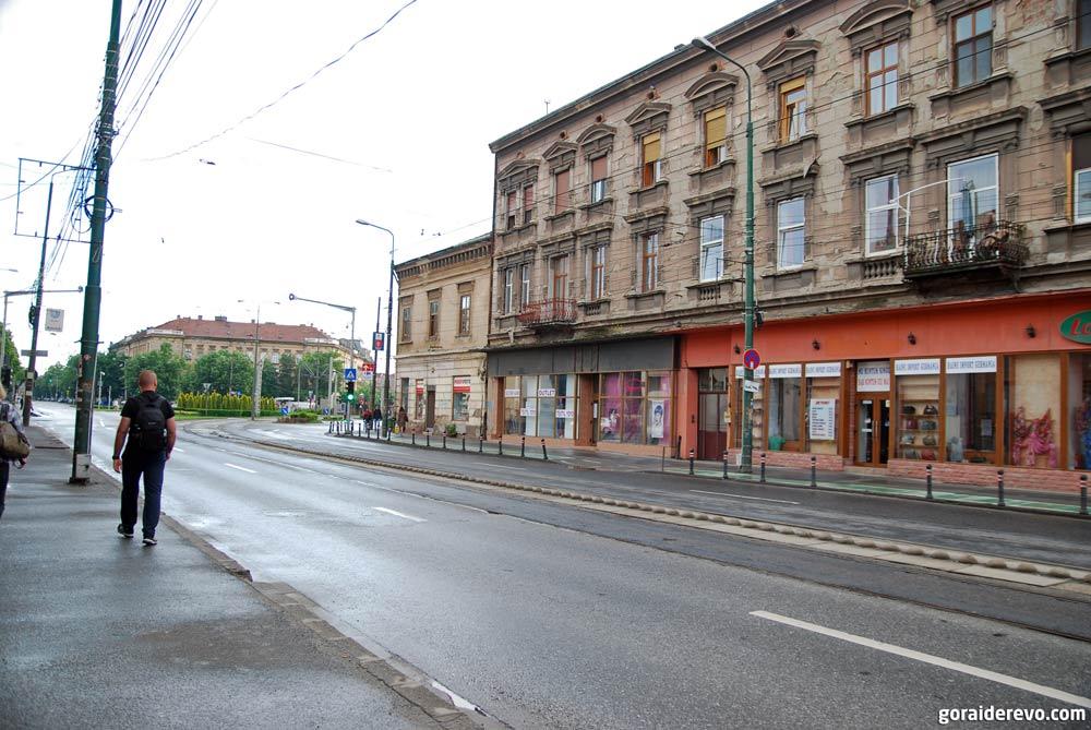 старые здания Тимишоара