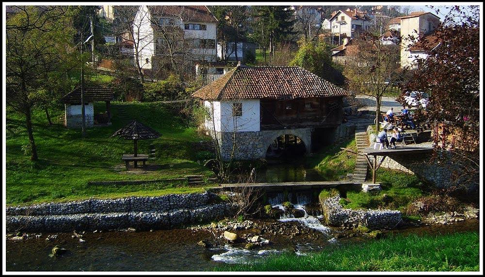 старая сербская мельница