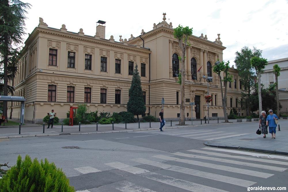 гимназия Валево