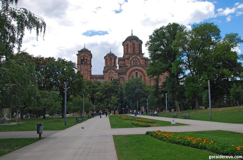 Ташмайдан церковь Святого Марка