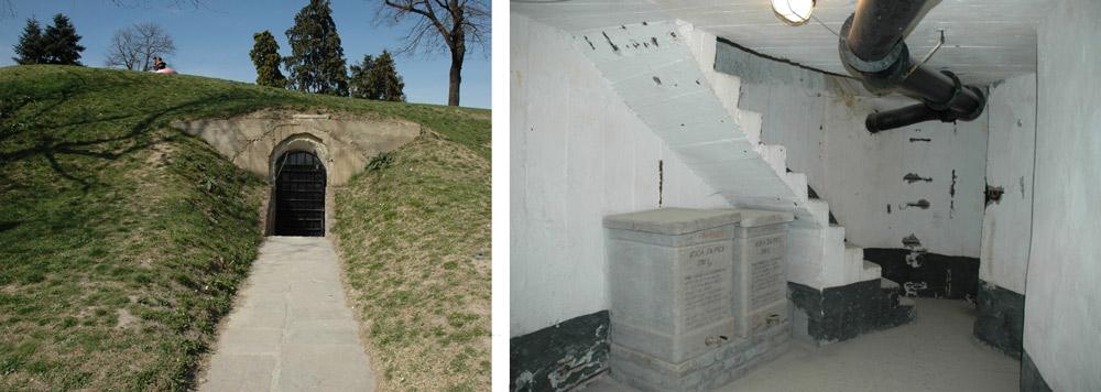 Югославский бункер на Калемегдане