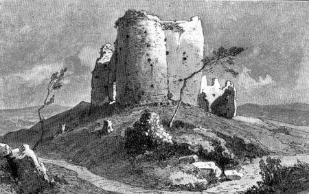 Древний Жрнов на горе