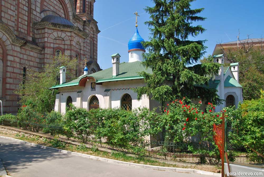русская церковь в Белграде