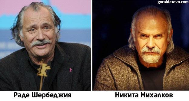 Раде Шербеджия и Михалков