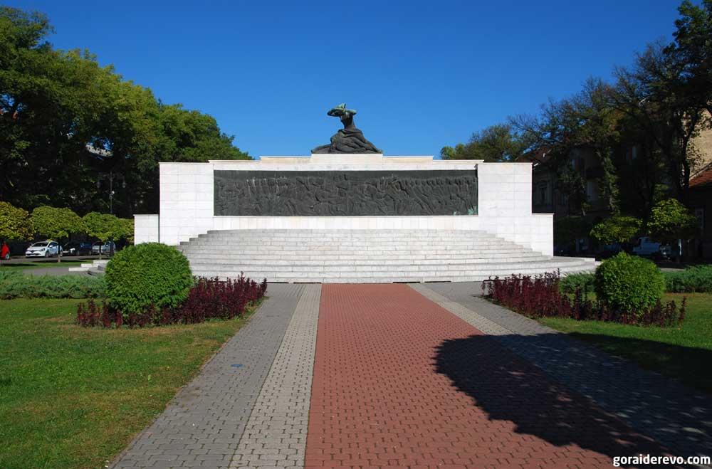 памятник жертвам фашизма суботица