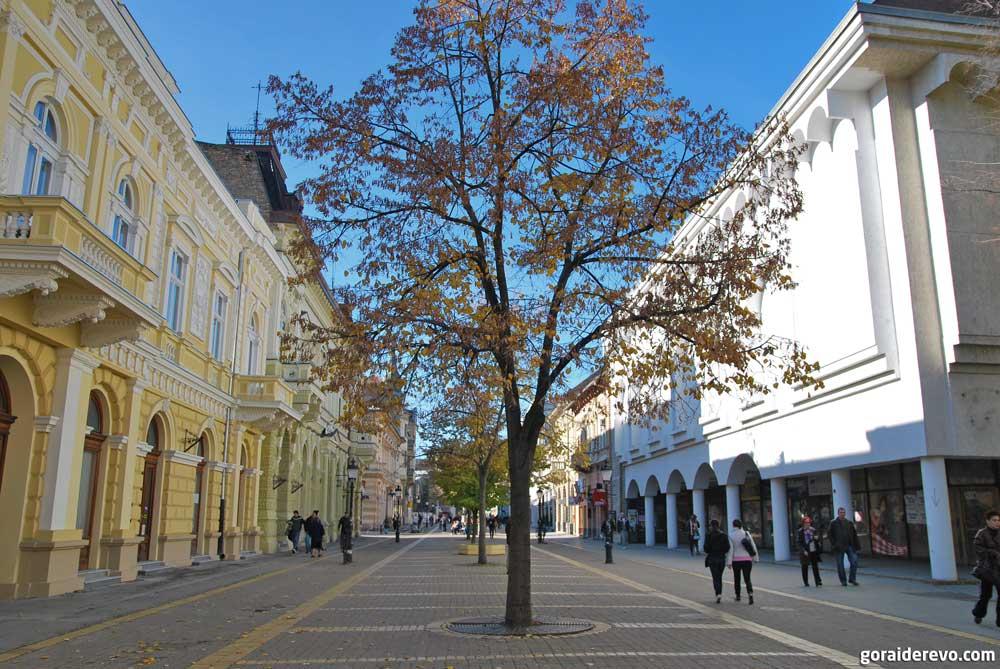 улица Корзо Суботица