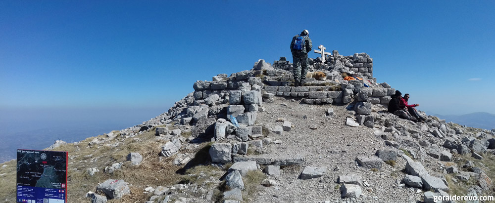 часовня развалины на горе Ртань