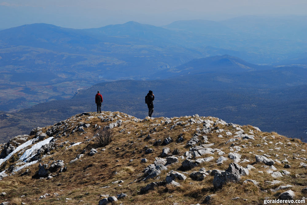 гора Ртань вершина